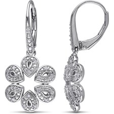 JULIE LEAH 1/5 CT TW DIAMOND EARRING